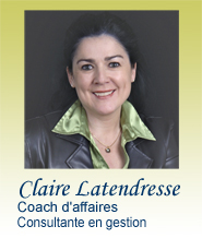 Claire Latendresse Coaching d'Affaires À Propos