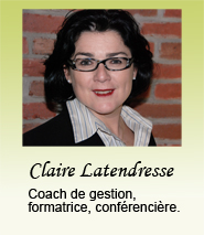 Claire Latendresse Coaching d'affaires